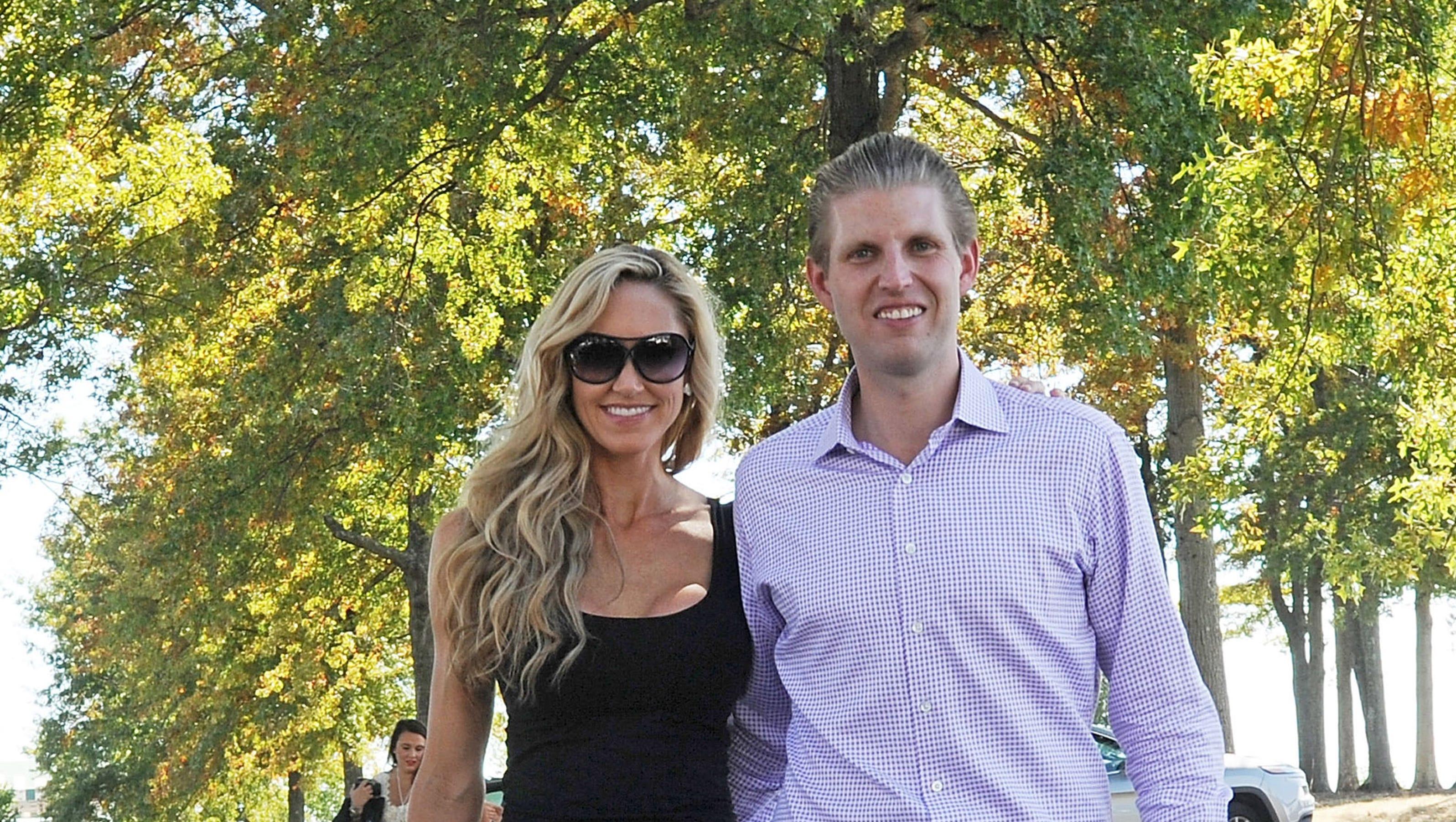Eric Trump marries Lara Yunaska in lavish wedding