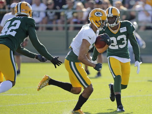 Morgan Burnett, Damarious Randall, Trevor Davis