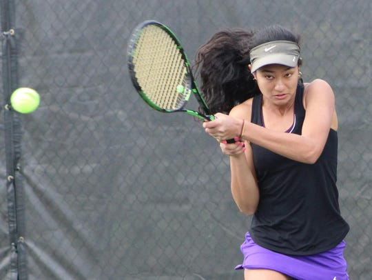 Tia Mukherjee is proving to be a top-flight No. 1 singles