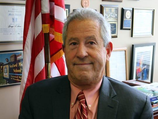 Lakeland school district Superintendent George Stone.