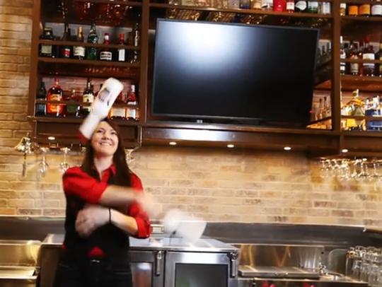 Chambersburg bartender Amanda George competed in TGI