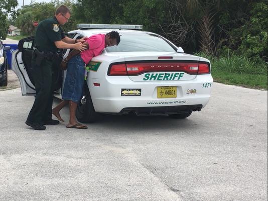 Accused burglar in custody