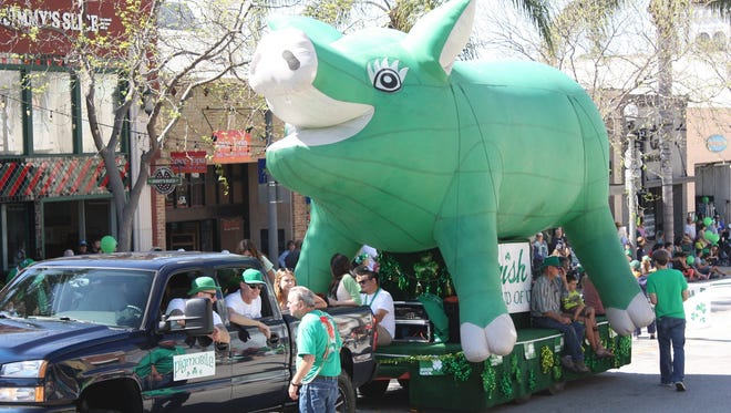 "A public ""Irish wake and memorial procession"" will be held for the Great Inflatable Green Pig at 5 p.m. Nov. 30 at the Museum of Ventura County, 100 E. Main St., Ventura. The St. Patrick's Day Parade float gave out during the March 11 parade after 26 years."