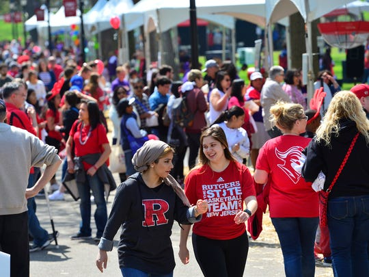 Thousands of people turned out to the 2018 Rutgers Day to enjoy music, vendors and activities.