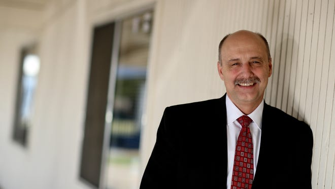 Rob Adams has been named superintendent of the Redding School District and will begin his new job in July.