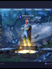 "Brendan Hickey's ""Fortnite"" avatar sporting the look, or skin, of a Fortnite super villain called Flytrap."