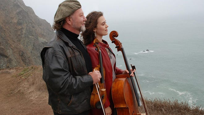 Alasdair Fraser and Natalie Haas perform Saturday in Stowe.