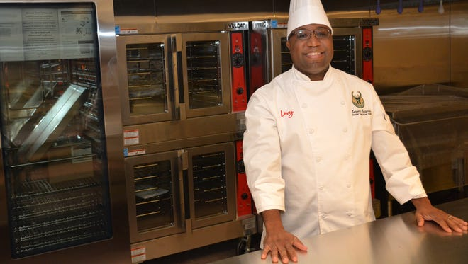 Kenneth Hardiman is the Milwaukee Bucks senior executive chef. Most recently, Hardiman was executive chef at the Mason Street Grill. Before that, his career included experience in hotel restaurants and a farm-to-table restaurant in his native Kansas City, Mo.