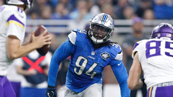 Vs. Minnesota: Ziggy Ansah vs. Riley Reiff. It wasn't fair in practice, and it won't be in games, either. Pick: Lions 23, Vikings 14