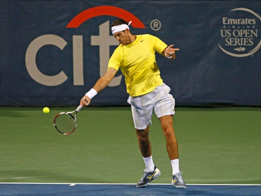 2013-8-20 us open preview del potro forehand