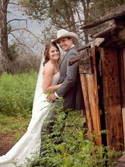 Mary and Travis Brown had their first date in Sand Springs, a remote blip of a town in eastern Montana.