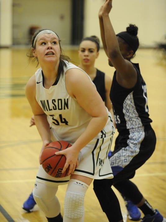 Lee at Wilson girls basketball