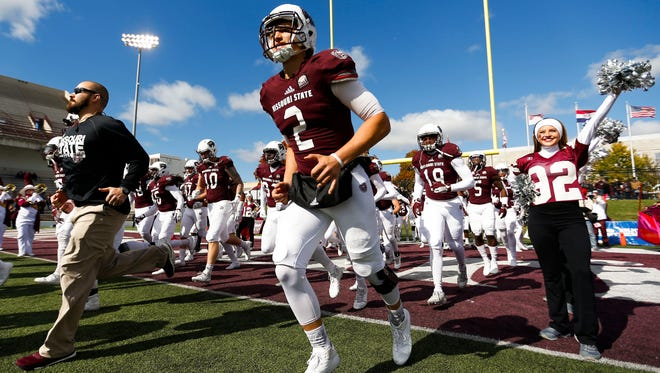 The Missouri State Bears took on the Indiana State Sycamores during the Bears homecoming football game at Plaster Stadium on Saturday, Oct. 28, 2017.