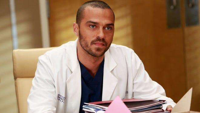 Jesse Williams in a scene from 'Grey's Anatomy.'