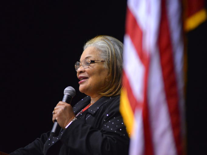 Dr. Alveda King, the niece of Dr. Martin Luther King