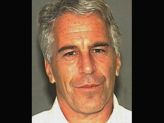 A 2006 photo provided by the Palm Beach (Fla.) Sheriff's Office shows Jeffrey Epstein.