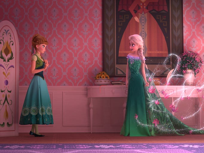 sneak peek frozen returns in frozen fever