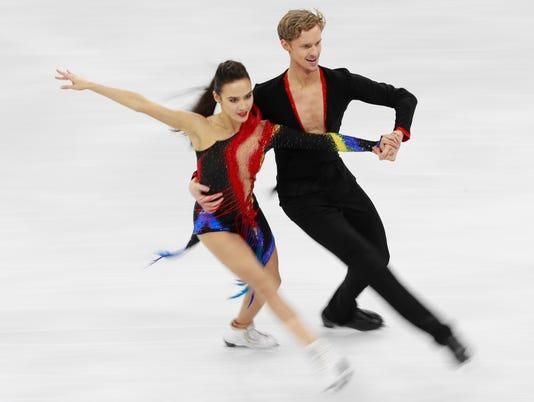 Figure Skating - PyeongChang 2018 Olympic Games, Gangneung, Korea - 19 Feb 2018