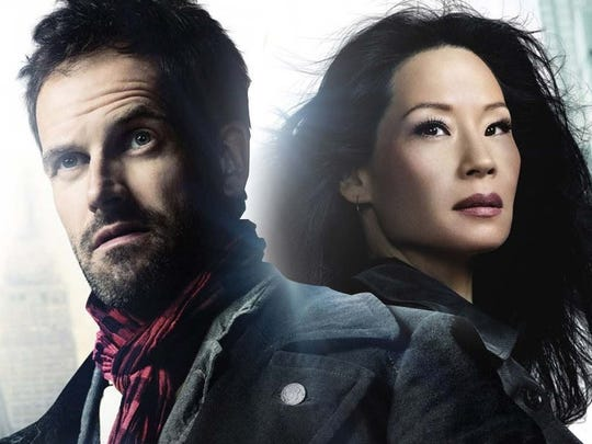 "Jonny Lee Miller as Sherlock Holmes and Lucy Lui as his Doctor Watson (Joan in this case) supply ""Elementary"" deductions to crimes."