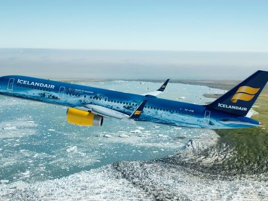 The newest Vatnajokull addition beautifies the Icelandair fleet
