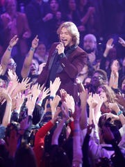 Country singer Craig Wayne Boyd performs on NBC's 'The