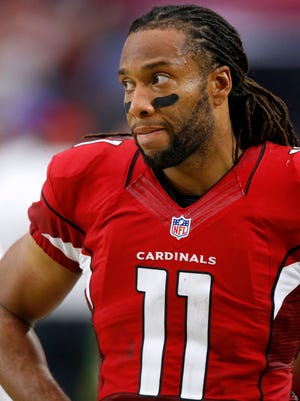 Arizona Cardinals wide receiver Larry Fitzgerald (11) during a game against the Kansas City Chiefs on Dec. 7, 2014 in Glendale.
