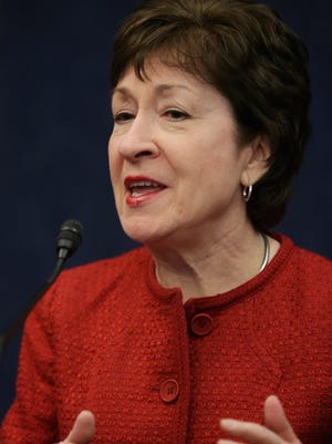 Sen. Susan Collins, R-Maine, is the new chairwoman of the Senate Special Committee on Aging.