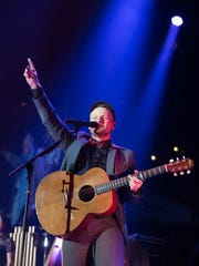 Rend Collective performs Tuesday, March 31, 2015, while
