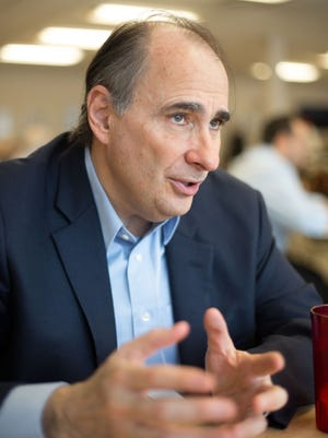 President Obama's former political strategist, David Axelrod, in Chicago on Feb. 4, 2015.