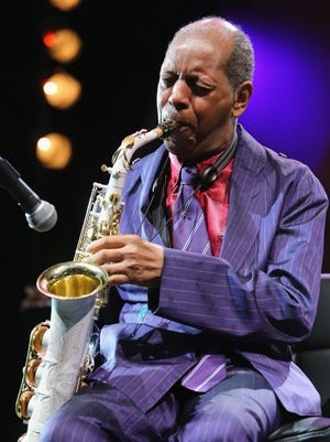 Jazz saxophonist Ornette Coleman is shown here in 2014.