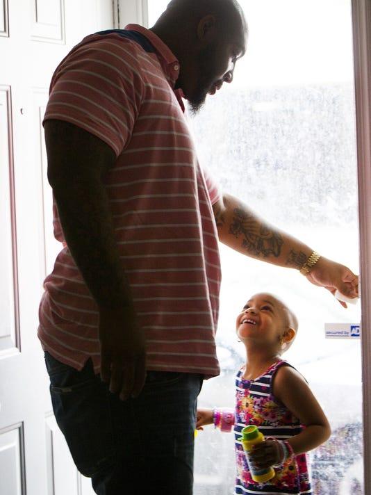 Devon Still talks about daughter Leah's cancer