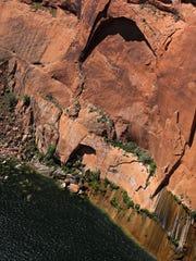 The Glen Canyon Bridge along U.S. Route 89 near Page,