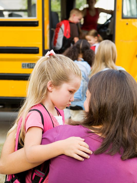 Back to school: Separation anxiety, fears and stress