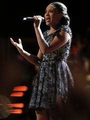 "Koryn Hawthorne of Abbeville advanced to the finals of ""The Voice"" last season."