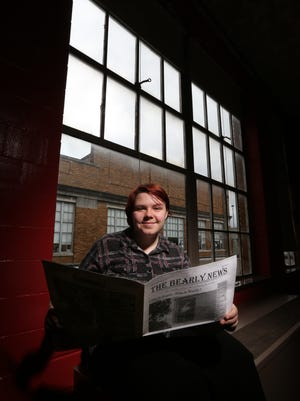 Brown School student Amelia Luttrell is on the newspaper staff and likes to make to make friends laugh.December 14, 2015