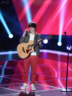 """Lafayette's Mackenzie Bourg, a previous contestant on season three of NBC's """"The Voice,"""" may land on """"American Idol"""" this week."""