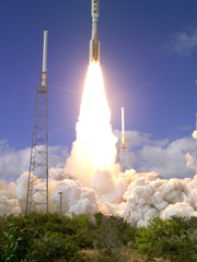 The New Horizons mission launches from Cape Canaveral
