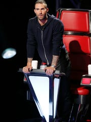 Team Adam became Team Jersey as coach Adam Levine scored
