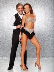 Geraldo Rivera will dance with Edyta Sliwinska, an