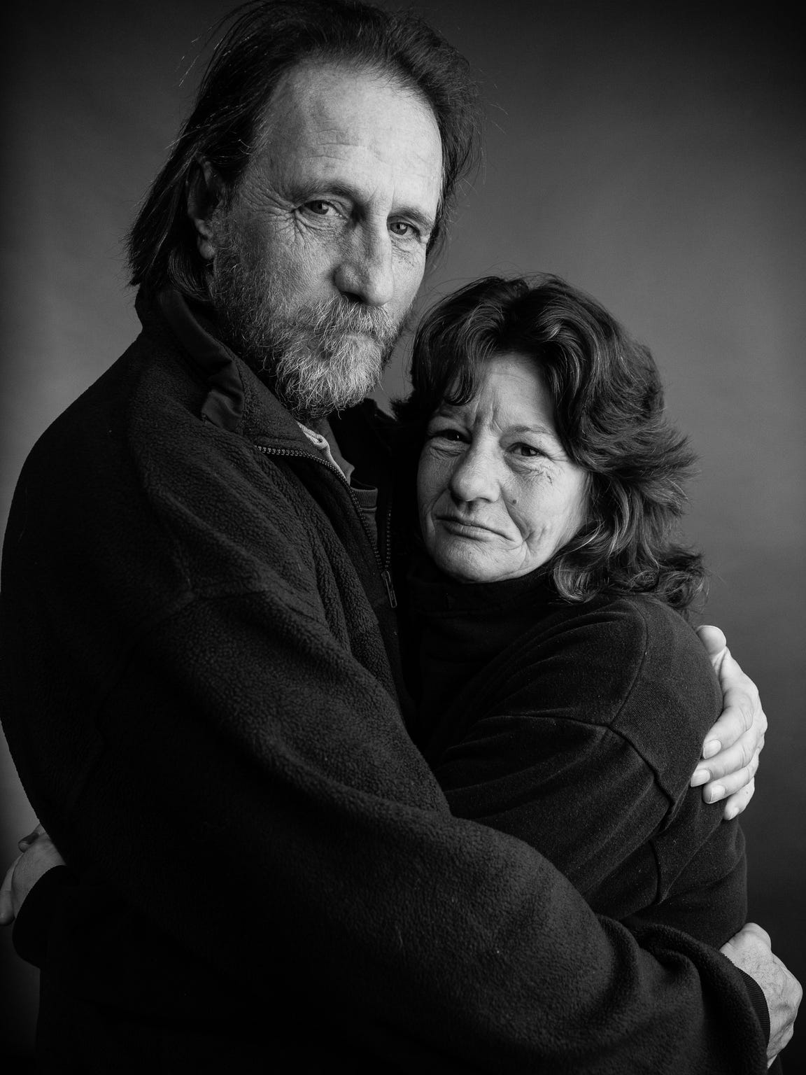 Photographer and filmmaker Randy Bacon took this photo of Kevin Drake and Petra Hensler a few years ago.