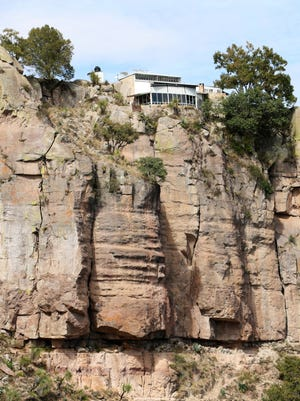 The Eagle's Nest sits about 100 meters above the cave in which Wheeler used to live.