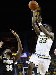 Michigan's Caris LeVert might be a reach at No. 20 if the Pacers select the guard.
