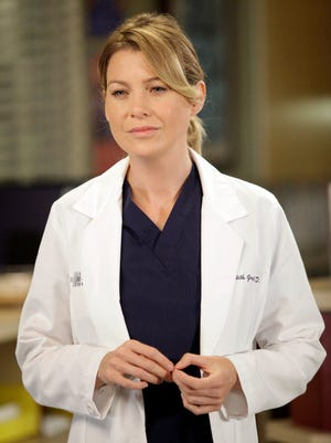 """GREY'S ANATOMY - """"I Saw Her Standing There"""" - Aware that Derek might never operate again, Meredith stops talking about the surgeries she's performing. Meanwhile, Richard calls on Dr. Catherine Avery to help him perform a complicated procedure, as things continue to heat up between Jackson and April; and Arizona's struggle to accept her fate forces Callie and Alex to face their guilt, on """"Grey's Anatomy,"""" THURSDAY, OCTOBER 25 (9:00-10:02 p.m., ET) on the ABC Television Network.  (ABC/KELSEY MCNEAL) ELLEN POMPEO [Via MerlinFTP Drop]"""