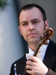 Concert Master M. Brent Williams will be the featured soloist when the San Juan Symphony opens its 31st season this weekend with performances in Farmington and Durango, Colo.