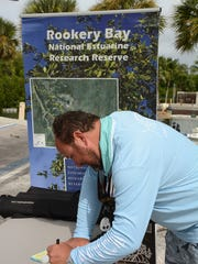 The Friends of Rookery Bay put on the third annual Guardian Anglers fishing tournament in the waters around Naples and Marco Island.