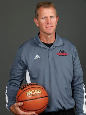 DuPont Manual High School basketball coach Jimmy Just. Nov. 7, 2016.