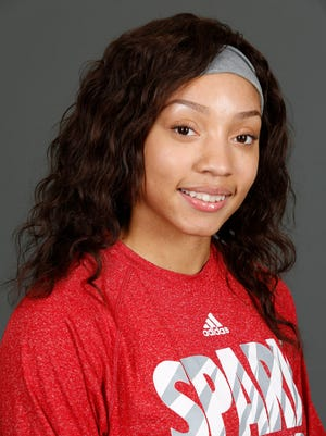 DuPont Manual basketball player Tonysha Curry. Nov. 7, 2016.