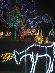 The annual Oshkosh Celebration of Lights continues in Menominee Park through Dec. 31.