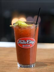 A Bloody Mary at the Outlook Inn in Louisville.