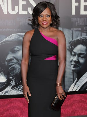 "Viola Davis attends the New York Special Screening of the Paramount Pictures title ""FENCES"" at Rose Theater, Jazz at Lincoln Center on December 19, 2016 in New York, New York."